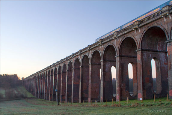 Known locally as the Balcombe Viaduct, the Grade II Listed bridge was built in 1841 and is made up of eight million bricks. It can only take two tracks and cannot be widened.