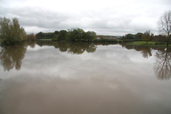 Flooding at Shermanbury