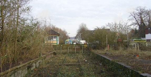 The Uckfield line in now cut off to the South and campaigners want it re-instated.