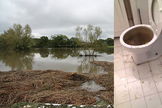 Mayfield sewage problem